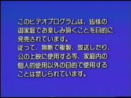 Disney Japanese Warning Screen (1991)