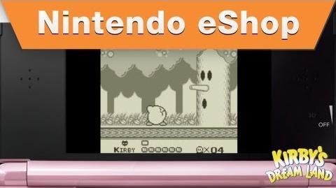 Nintendo eShop - Kirby's Dream Land Trailer (2012)