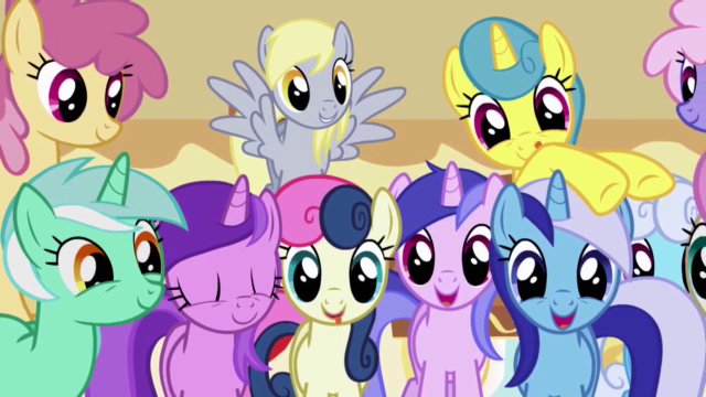 File:A group of very happy background ponies.png