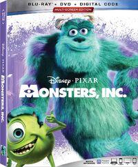 Monsters, Inc. 2019 Blu-ray