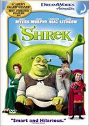 Shrek 2003dvd
