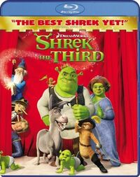 Shrek3 bluray
