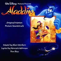 Aladdin Soundtrack CD