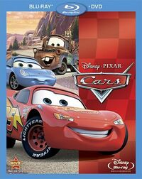 Cars bluraydvd