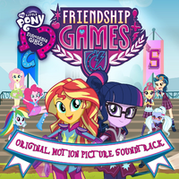 Friendship Games soundtrack album cover