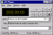 Windowsnt cdplayer