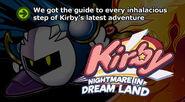 Kirby nightmareindreamland