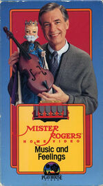 Mister Rogers Home Video - Music and Feelings VHS