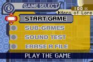 Kirbygba gameselect