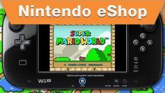 Nintendo eShop - Super Mario World Wii U Virtual Console Trailer