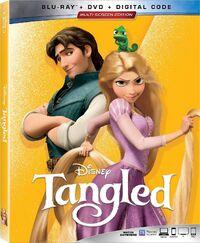Tangled 2019 Blu-ray