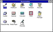 Windows31 accessories
