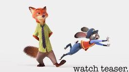 Zootopia US Teaser Trailer