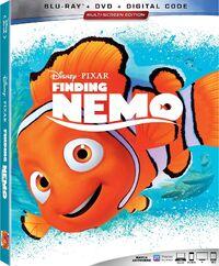 Finding Nemo 2019 Blu-ray