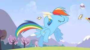"My Little Pony Friendship is Magic ""Wonderbolt Academy"" (Clip) - The Hub"