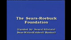 The Sears-Roebuck Foundation (1990-1992)