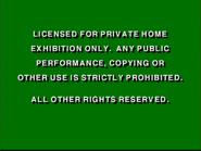 Disney Green Warning (1991)