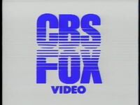 1982 CBS-FOX Video Logo