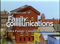 1994 Family Communications Logo