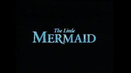 THE LITTLE MERMAID MOVIE TRAILER VHS 1989 1997