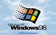 Windows98 shutdown