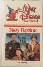 Mary Poppins 1982 VHS