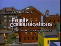 1985 Family Communications Logo