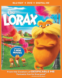 The Lorax 2017 Blu-ray