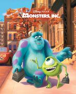 Monsters, Inc. 2012 Book Cover
