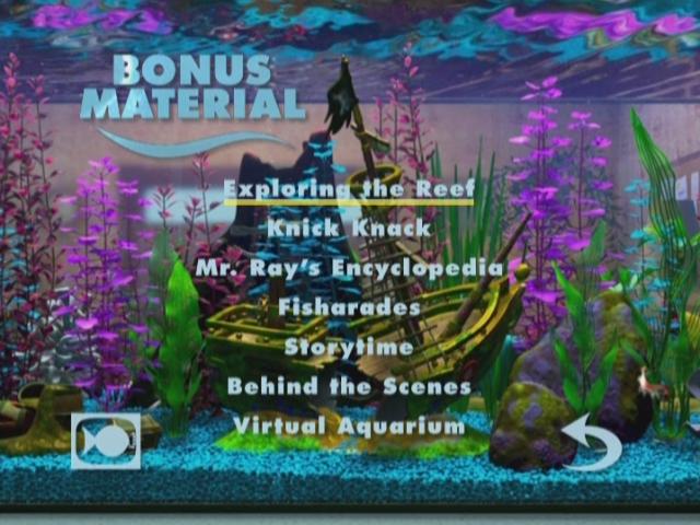 Finding Nemo DVD VHS