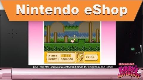 Nintendo eShop - Kirby's Adventure Trailer (2012)