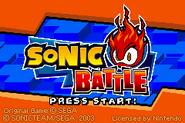 Sonicbattle title
