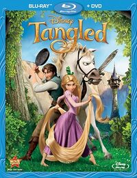 Tangled bluray