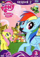 My Little Pony Season 2 Vol. 3 Thai DVD