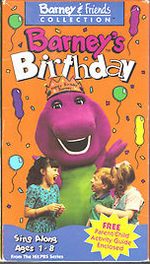 Barneysbirthday 1993