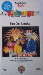 Kidsongs singoutamerica