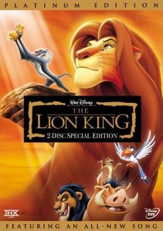 The Lion King Platinum Edition Twilight Sparkles Media