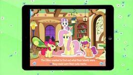 My Little Pony Fluttershy's Famous Stare - iOS App Trailer