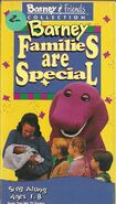 Barney: Families are Special (VHS)