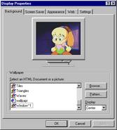 Windows95c display