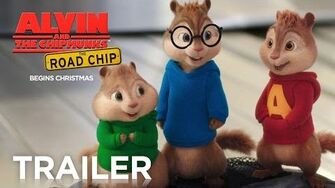Alvin and the Chipmunks The Road Chip Official Trailer 2 HD FOX Family