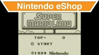 Nintendo eShop - Super Mario Land™ Trailer