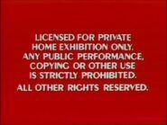 Disney Red Warning (1984) Remake