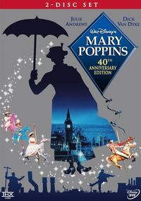 Mary Poppins 2004 DVD