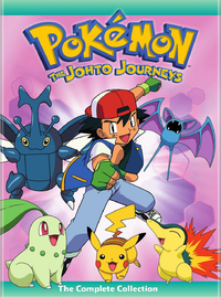 The Johto Journeys 2015 DVD