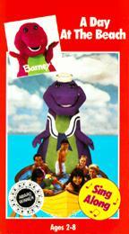Barney The Backyard Gang A Day At The Beach Twilight - Barney backyard gang concert vhs