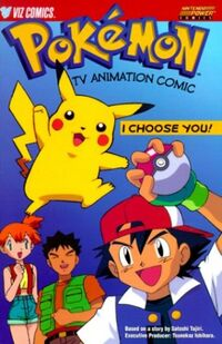 Pokemon comicbook