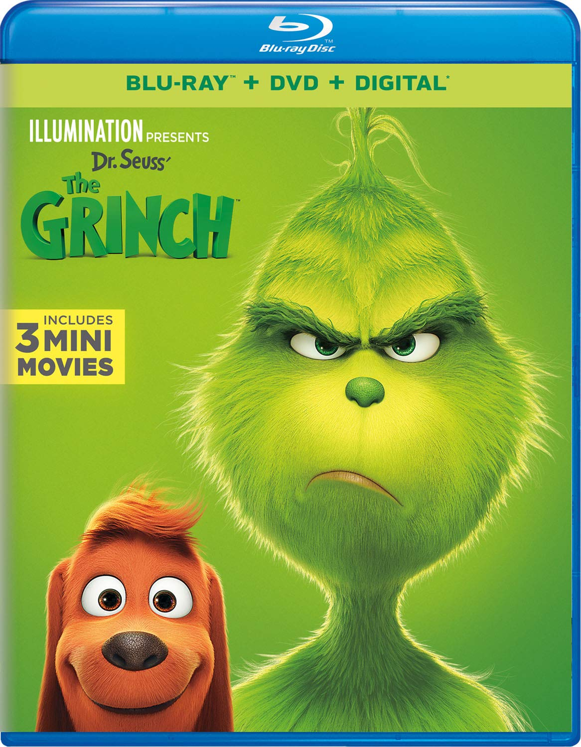 The Grinch (Blu-ray/DVD) | Twilight Sparkle's Media Library