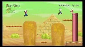 New Super Mario Bros. (Wii) E3 Trailer