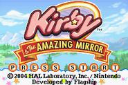 Kirby mirror title
